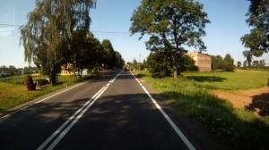 GoPro dashboard camera view