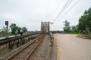 Bridge to quang Tri, this bridge replaced the one I traveled on.