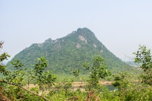 This mountain was known as the rock pile, not a very safe place.