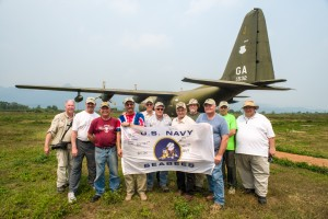 The group at Khe Sanh