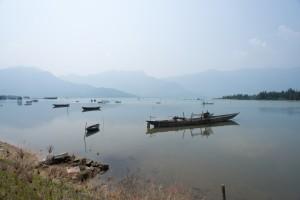 A all Catholic fishing village just north of Danang
